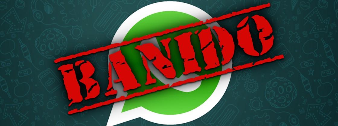 WhatsApp Banido